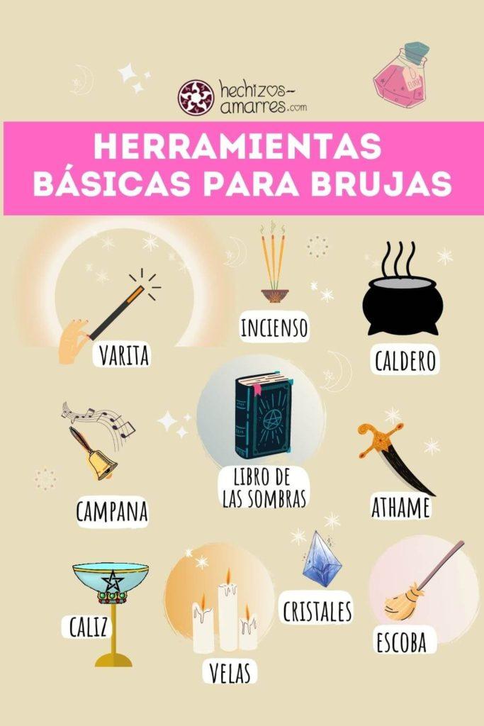 Herramientas básicas para brujas modernas