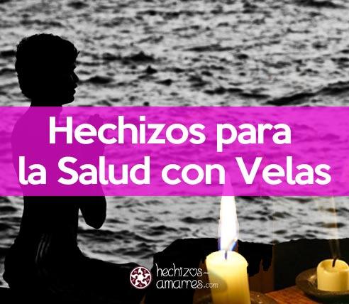 Hechizos para la salud con velas