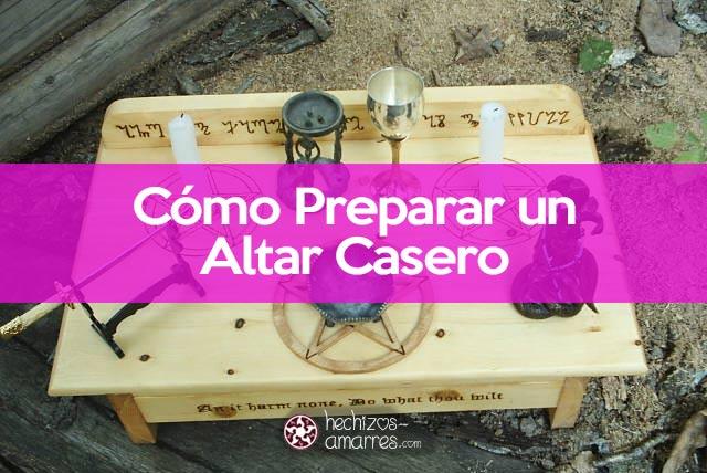 Cómo preparar un altar casero