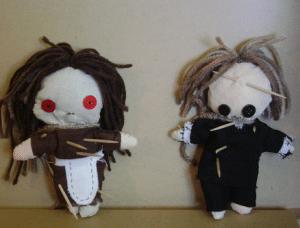 Como hacer un muñeco vudu