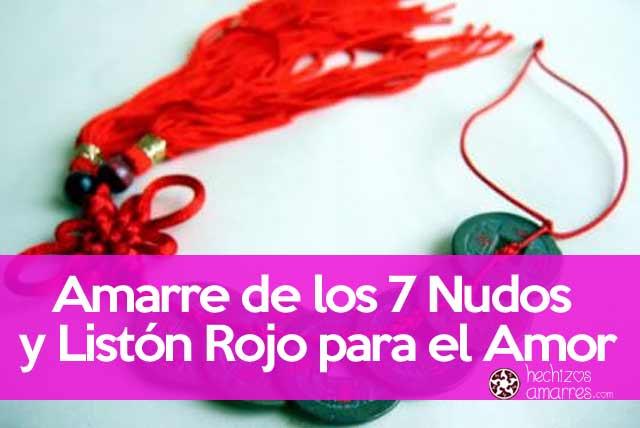 9c325718200d Amarre de los 7 Nudos y Listón Rojo para el Amor  ¡Funciona!