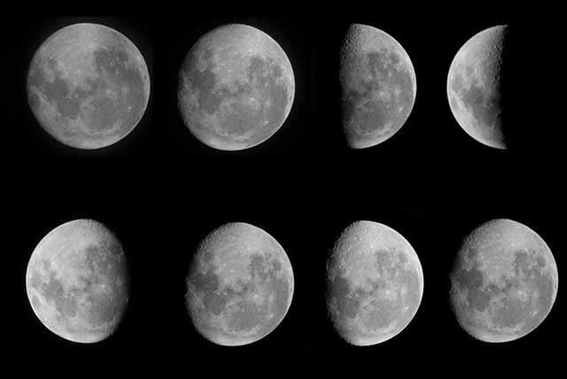 Magia Lunar Las Fases De La Luna Y La Magia Blanca