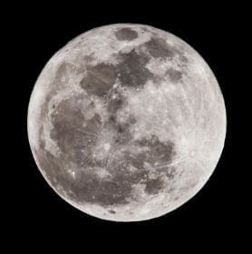 Magia della luna: luna piena