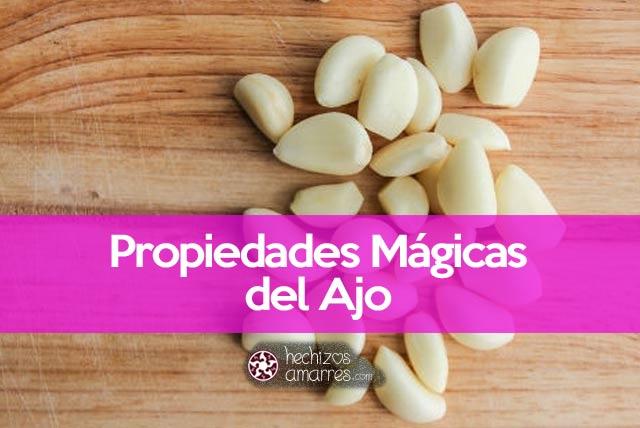 Propiedades mágicas del ajo