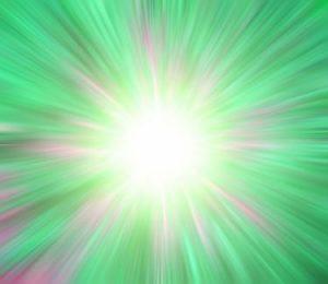 Luz blanca de paz