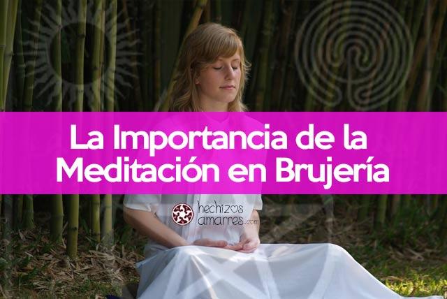 Meditación y brujería