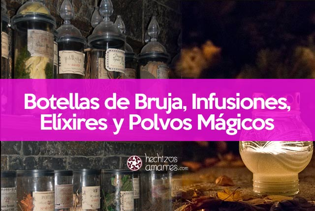 Botellas de bruja
