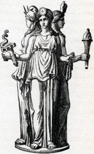 Dioses paganos Hecate