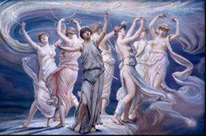 Dioses paganos Maia Pleiades