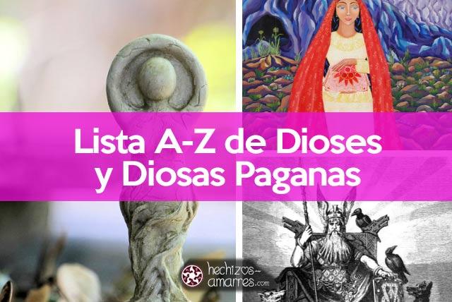 Dioses y divinidades paganas