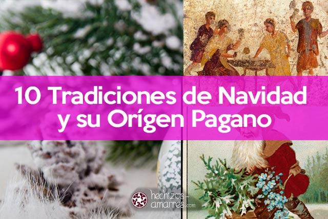 Tradiciones de Navidad y su Orígen pagano