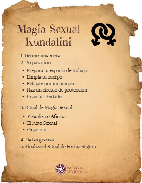 Hechizo Magia Sexual