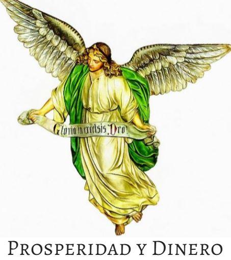 Angel de la prosperidad y el dinero