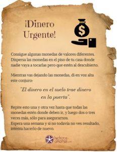 Ritual Dinero Urgente