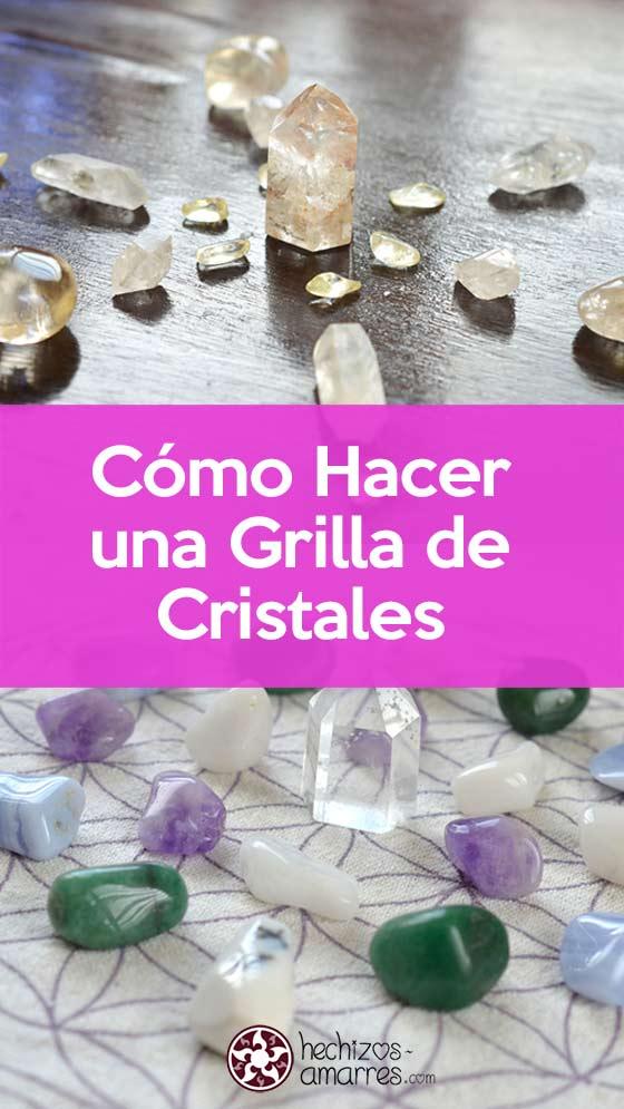 Como hacer una cuadrícula de cristales