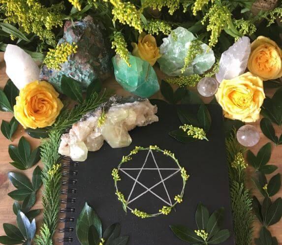 Altar para atraer el amor