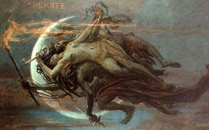 Historia de Hecate y la Brujeria: Resumen