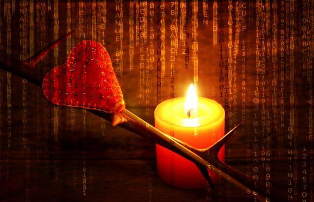 Hechizo de amor con vela roja