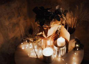 Enterrar Velas y Restos de Rituales
