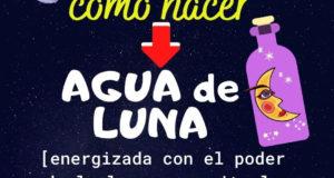 Agua de Luna fácil para principiantes