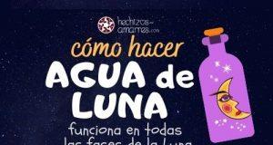 Cómo hacer Agua de Luna