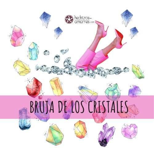 20 Tipos de Brujas: Bruja de Cristales. No pueden faltar en tu Kit de bruja.
