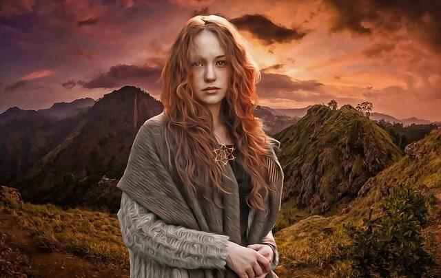 Tipos de Brujas: Bruja Solitaria. No pertenece a ninguna estructura.