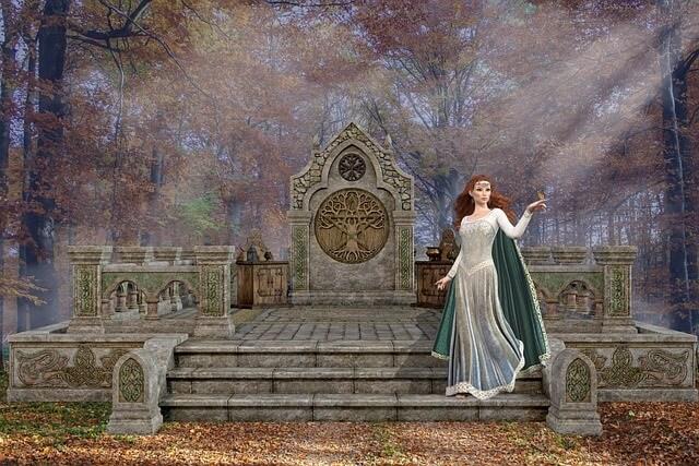 Bruja Diánica y Diosa Diana