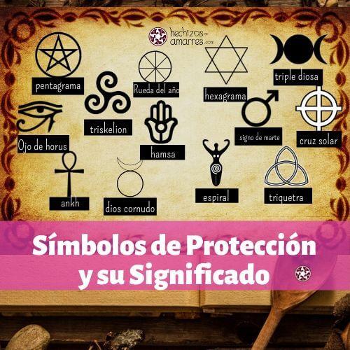 Los Símbolos de Protección y su Significado para atraer una intención a tu trabajo mágico.
