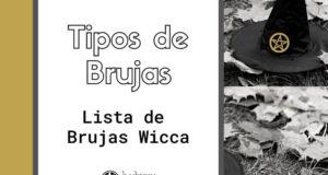 20 Tipos de Brujas