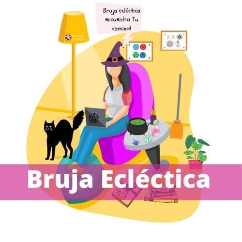 Tipos de Brujas: Bruja Ecléctica. No siguen una religión o tradición en particular.