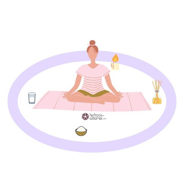 Cómo trazar un círculo mágico de proteccion