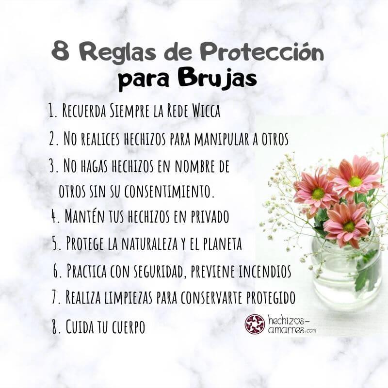 Reglas de Protección que toda Bruja debe saber