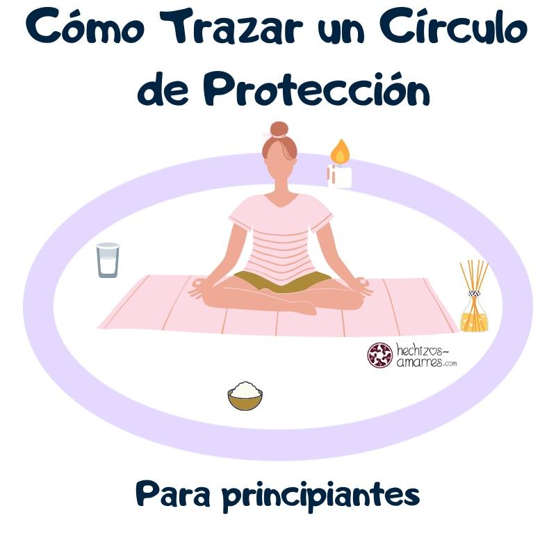 Cómo trazar un Círculo Mágico de Protección Wicca