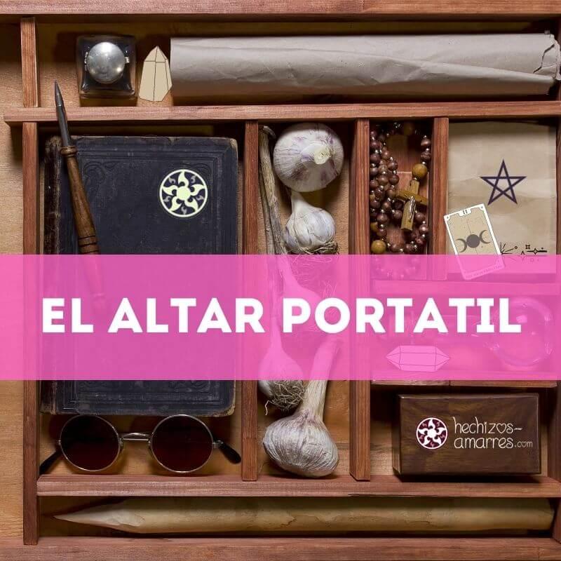 El Altar Wiccano portátil