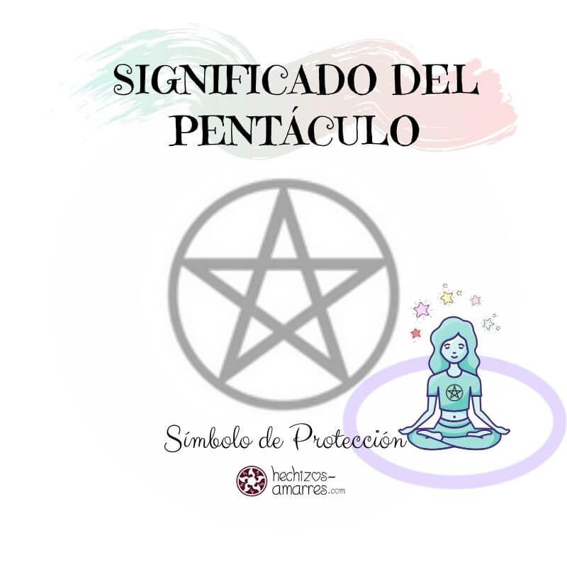 Símbolo de Protección Pentáculo: Estrella de 5 Puntas encerrada en un círculo.