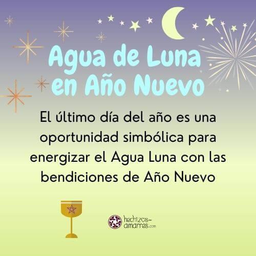 Agua de Luna en Año Nuevo