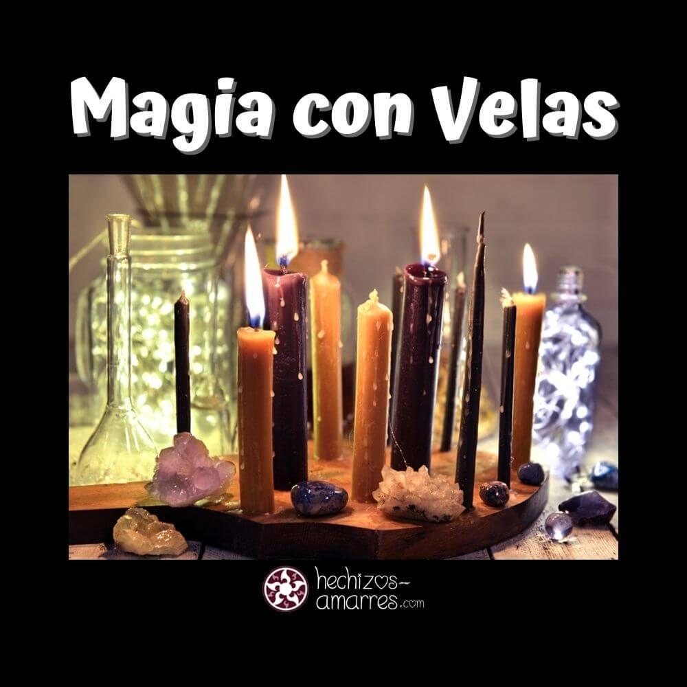 Guía Fácil para usar velas en rituales y hechizos