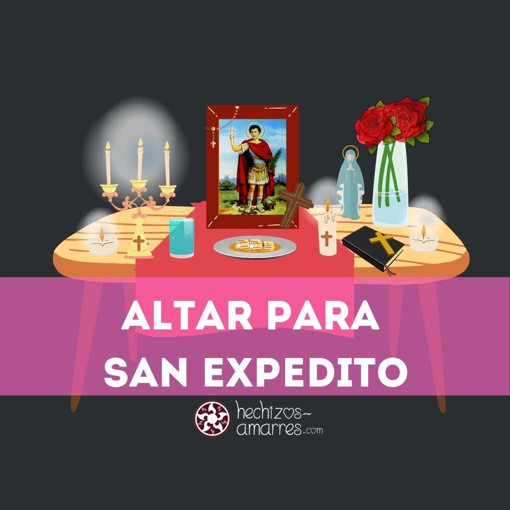Trabajar con San Expedito: Cómo hacer un Altar Ofrendas y Oraciones
