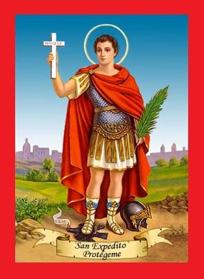 Cómo trabajar con San Expedito [Altar, ofrendas, oraciones]
